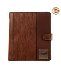 "Genuine Leather Planner / Organiser ,,the brown book"" MA-v1 Brown Desktop Format"