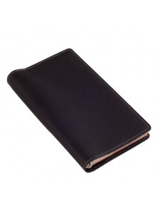 black leather jotter FL070JT Top.jpg