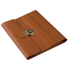 Esquire Leather Folder with lock SQ036B5 Front.jpg