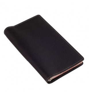 Black Leather Pocket Jotter Style FL070JT